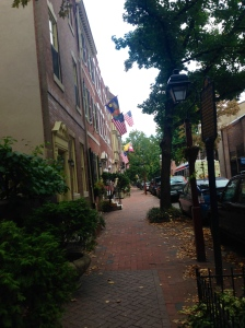 Old city in Philly, USA